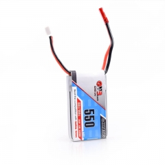 FSD 2S 550mah 2S 80C 7.4V Battery GNB