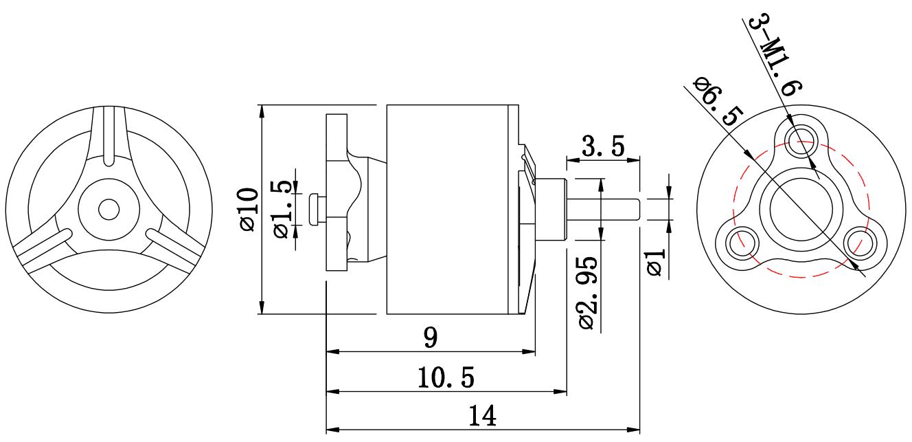 Fsd 0703 15000kv 1s Brushless Motormotors Brushlessmotordiagrampng Item Name 1 2s Motor Stator Diameter 7mm Thickness 3mm Kv Resistance 200m Weight 3g