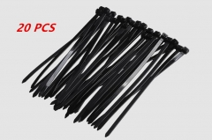 Nylon Cable Tie 3x100mm  20pcs Black