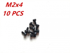 M2x4 Alloy Steel Hexagon Socket Head Cap Screws Metric