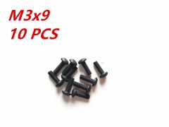 M3x9 Alloy Steel Hex Socket Button Head Cap Screws Metric
