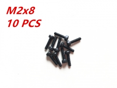 M2x8 Alloy Steel Hexagon Socket Head Cap Screws Metric