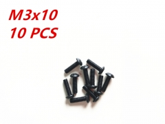 M3x10 Alloy Steel Hex Socket Button Head Cap Screws Metric
