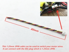 1.25mm 3pin cable for Motor
