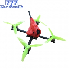 NameLessRC PowerStick 3-4S FPV Racing Drone inspired by KababFPV Tmotor 400mW VTX DVR 720P Recording