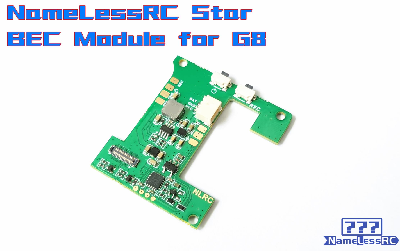 NameLessRC Star BEC Module for GP Hero8,Cam & VTX